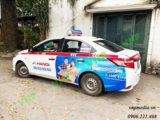 quảng cáo taxi Hà Nội