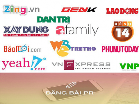 dịch vụ đăng bài trên báo điện tử của VNP