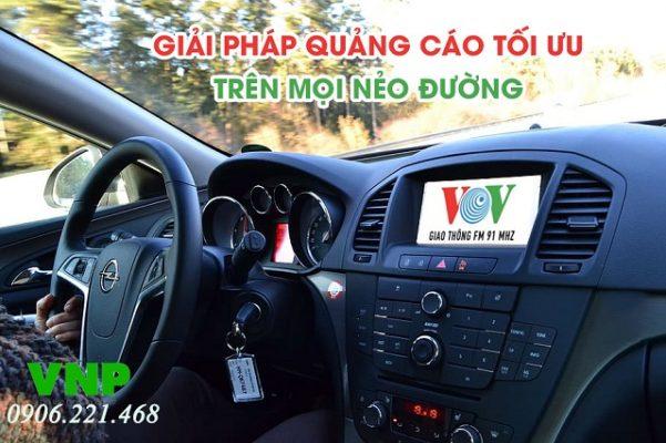 quảng cáo trên vov giao thông