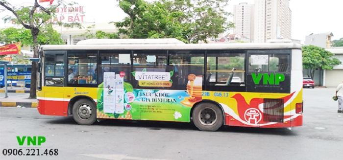 truyền thông marketing với quảng cáo bus